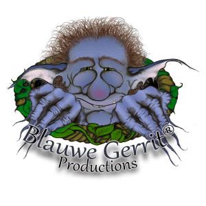 Blauwe Gerrit logo