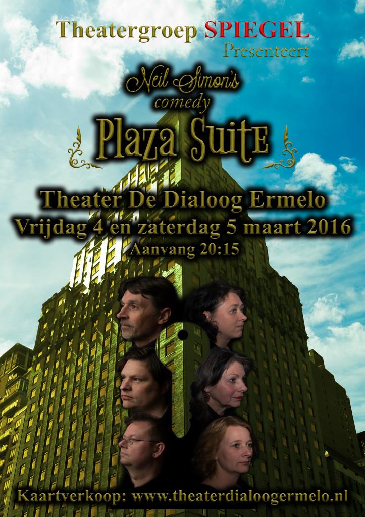 Theatergroep Spiegel.nl Poster Plaza Suite