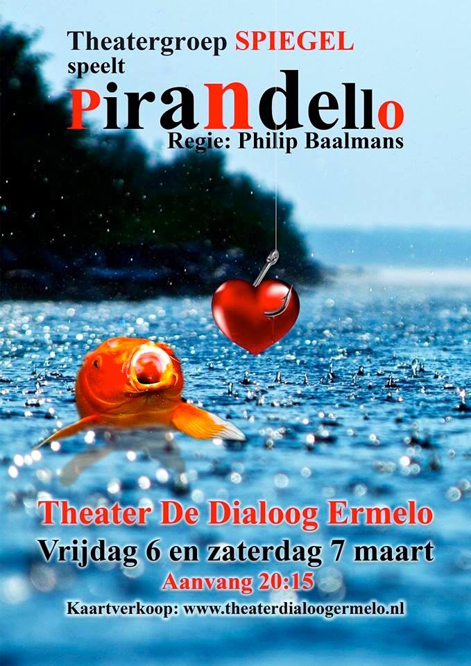 poster Pirandello-theatergroepspiegel.nl