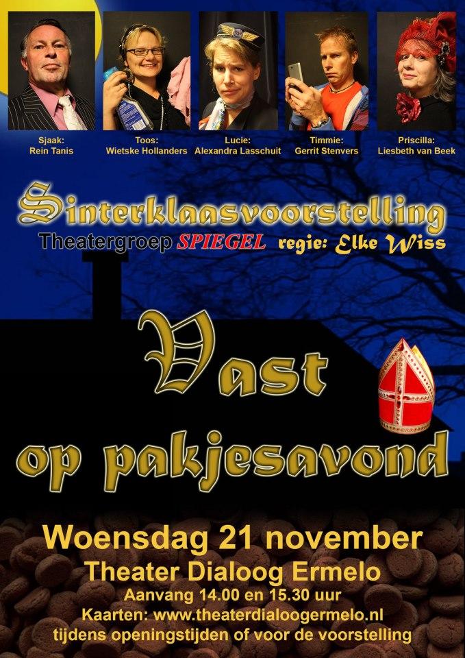Poster VAST www.theatergroepspiegel.nl
