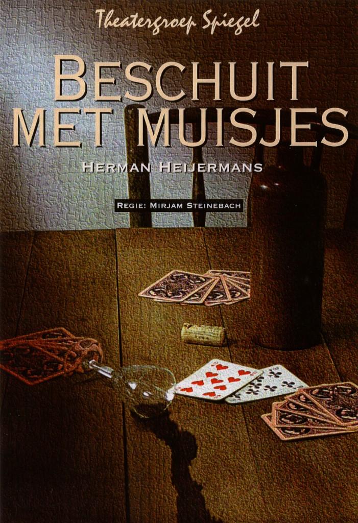 Poster Beschuit met muisjes Theatergroepspiegel.nl